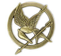 'Mockingjay' pin (courtesy of Target)