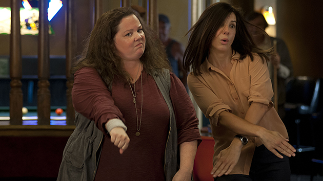 Melissa McCarthy and Sandra Bullock in 'The Heat' (20th Century Fox)
