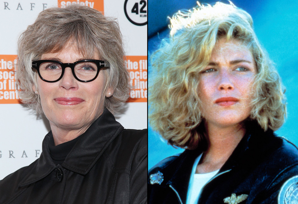 Kelly McGillis then and now (Photo: Everette Collection/ Paramount Pictures)