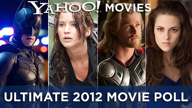'The Dark Knight Rises,' 'The Hunger Games,' 'The Avengers' & 'Breaking Dawn'