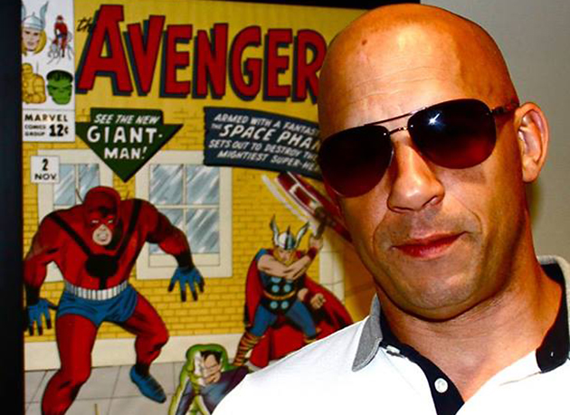 Is Vin Diesel joining the Marvel universe? (Photo: Vin Diesel/Facebook)