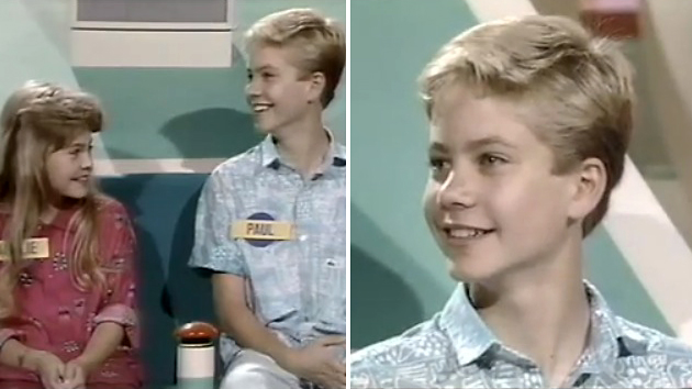 Paul Walker was a kid contestant on an '80s game show (Screengrab from NBC)