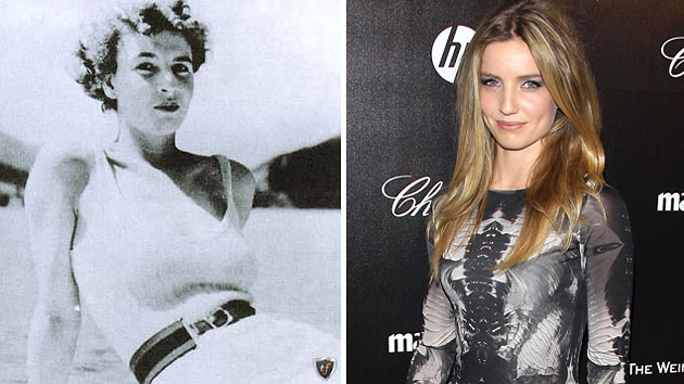 Muriel Wright, left, and Annabelle Wallis -- who will portray Wright (Photo: Courtesy of Marxist Library/Getty Images)
