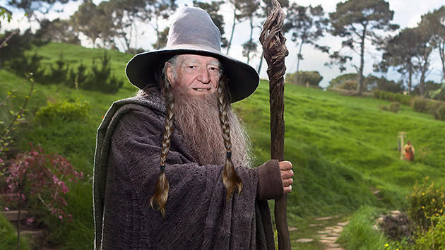 Willie Nelson as Gandalf. Photos courtesy of Everett Collection/Getty Images.
