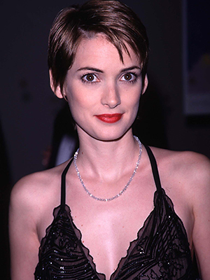 Ryder in 1998 at a Film Gala Tribute to Martin Scorsese (Photo: Evan Agostini/Getty Images)