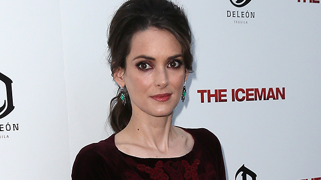 Winona Ryder at 'The Iceman' Premiere in Hollywood on Monday (Photo: David Livingston/Getty Images)
