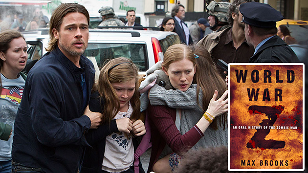 'World War Z': the movie and the book have little in common (Photo: Paramount/Crown)