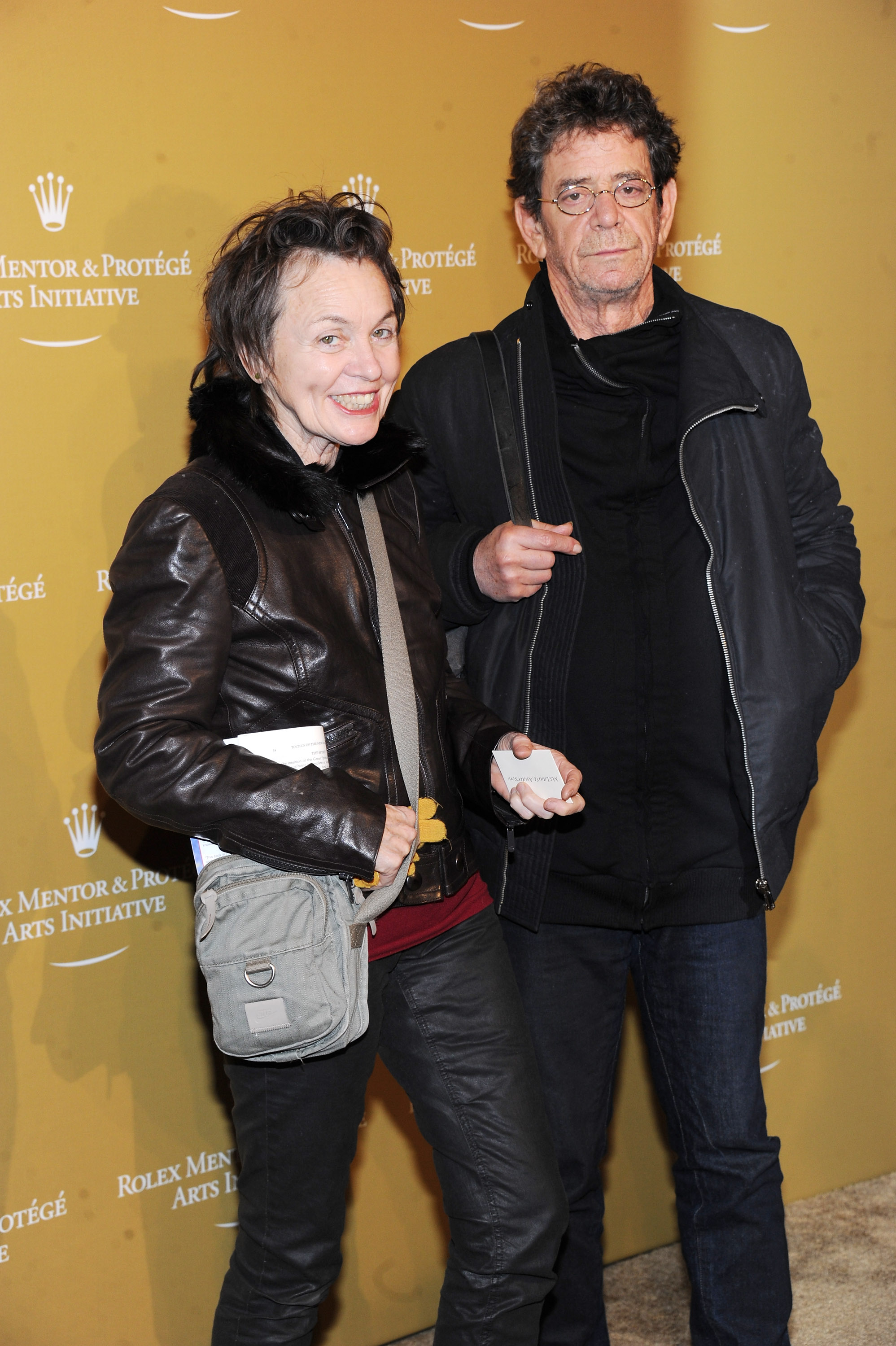 Laurie Anderson and Lou Reed (Photo: Jamie McCarthy)