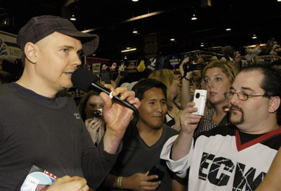 Billy Corgan, Eager to Smash Things Other Than Pumpkins, Starts Pro Wrestling Company