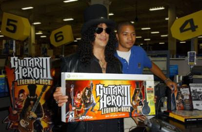 Axl Rose's Hatred of Slash Results in $20 Million 'Guitar Hero' Lawsuit