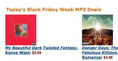 Why Is Kanye's Album Only $3.99 on Amazon?