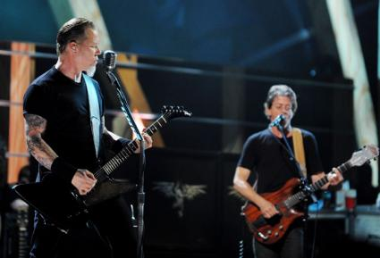 Metallica and Lou Reed Made a Dark, Loud Album Together