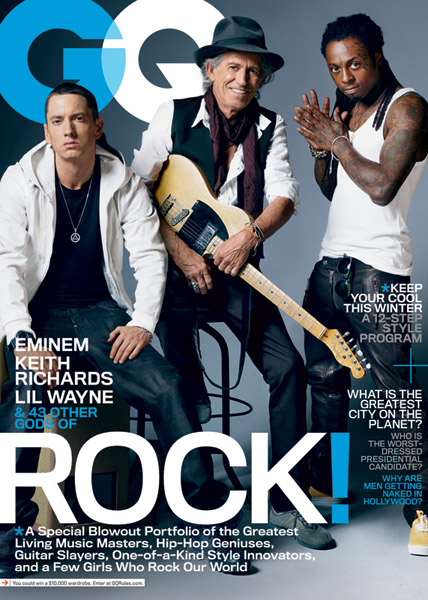 Not Even Keith Richards Can Make Eminem Smile