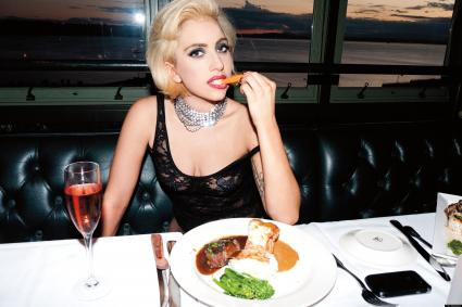 Lady Gaga's Upcoming Photo Book: Leave the Meat, Take the Carrot