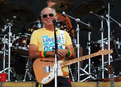 Jimmy Buffett Recovering After Inadvertent Stage Dive