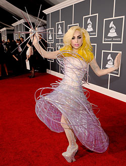 Wacky, Wondrous Fashion Wins On Grammys Red Carpet