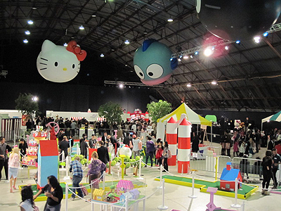 Pop Stars Look Pretty, Honor Hello Kitty At Sanrio's 50th Anniversary Bash