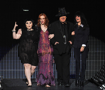 Boy George, Mark Ronson, Beth Ditto & Pals Bust Up Etam's Lingerie Catwalk