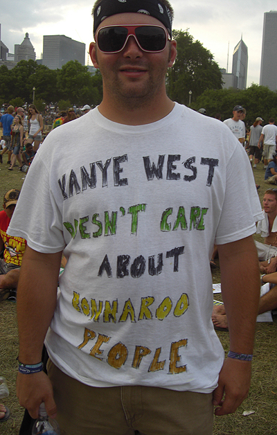 Lollapalooza '08: Kanye's Post-Bonnaroo Homecoming