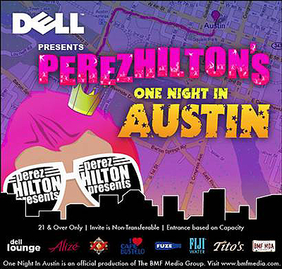 SXSW 2009: Perez Hilton's Ladies Night