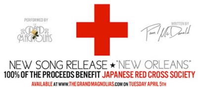 Paul McDonald Gives Back: The Grand Magnolias' Japan Charity Song