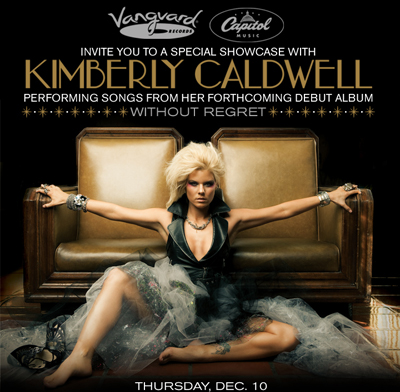 Kimberly Caldwell Previews Songs From Debut Disc