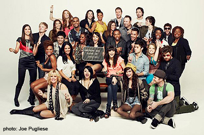 Allstars Reunite For Hollywood Reporter Epic Idol Photo Shoot
