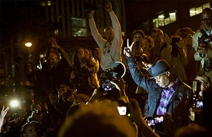 Talib Kweli at Occupy Wall Street: 'We Have to Grow'
