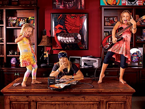 Bret Michaels And Daughters Cover Poison Classic For Kidz Bop