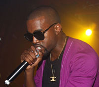 Kanye West Gives Impromptu Concert At Facebook Cafeteria