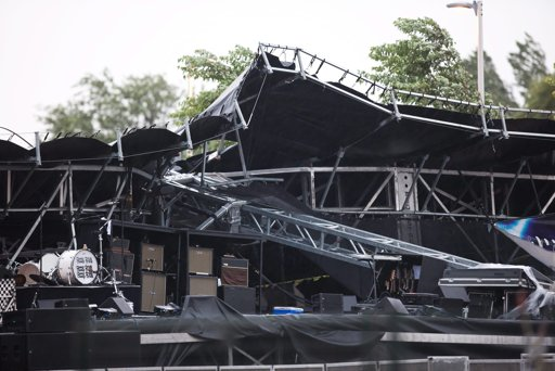 Cheap Trick Members OK After Thunderstorm Collapses Stage At Canada Concert