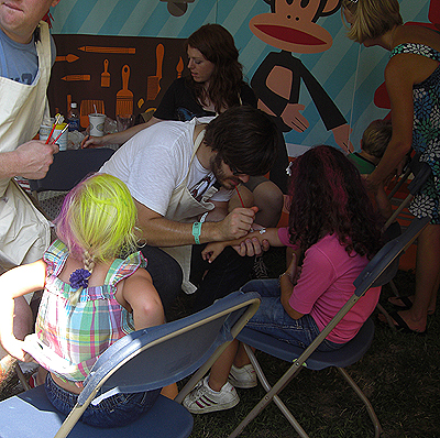 Lollapalooza '08: Doing It For The Kids