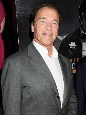 Schwarzenegger. (Dave M. Benett/Getty Images)