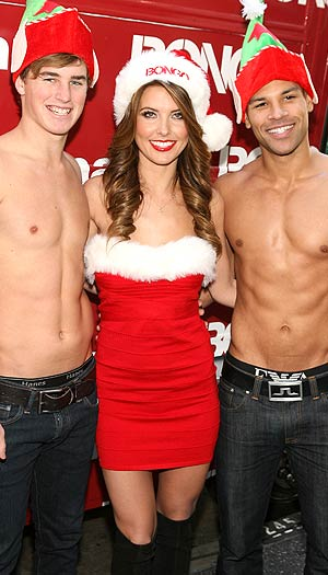 Audrina Patridge gets festive for Bongo. Jesse Grant/WireImage.com