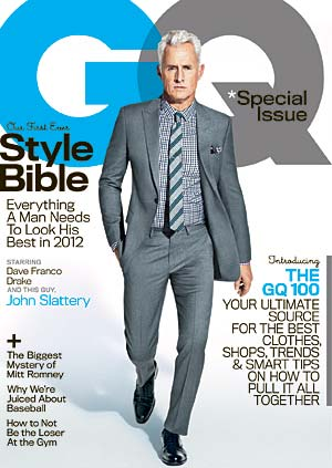 John Slattery on the cover of GQ (Sebastian Kim/GQ)