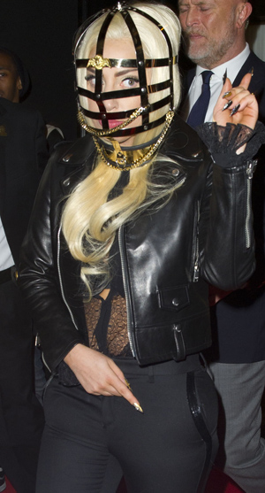 Lady Gaga in NYC (Splash News)