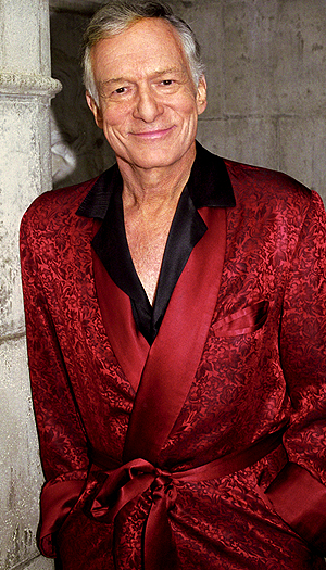Hugh Hefner. (Courtesy of Playboy)