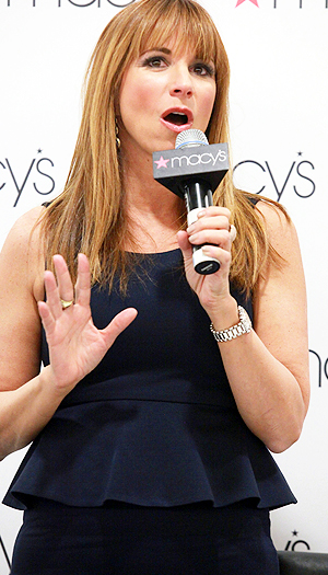 Jill Zarin promotes her new shapewear line at Macy's.. (Astrid Stawiarz/Getty Images)