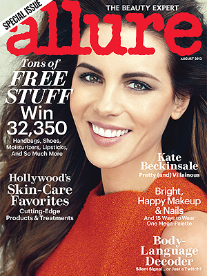 Kate Beckinsale on the cover of Allure. (Norman Jean Roy/Allure)