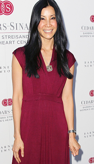 Lisa Ling hits the red carpet. (David Livingston/Getty Images)