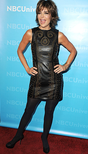 Author/designer/actress Lisa Rinna hits the red carpet. (Steve Granitz/WireImage)