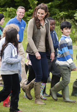 Kate reportedly told the kids that William spoils her (David Parker/WPA Pool/Getty Images)