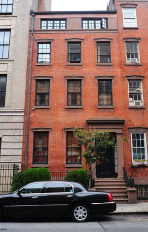 Moore's NYC townhouse (Splash News)