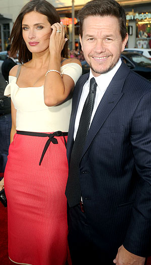 Mark Wahlberg and wife Rhea Durham. (Jeff Kravitz/FilmMagic)
