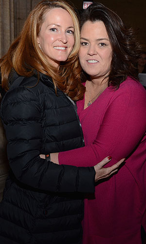 Rosie O'Donnell and fiancee Michelle Rounds (Daniel Boczarski/Getty Images)