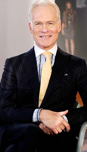 Tim Gunn shares holiday style tips with omg!. Dimitrios Kambouris/WireImage