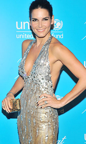 Angie Harmon. (Stephen Lovekin/Getty Images for UNICEF)