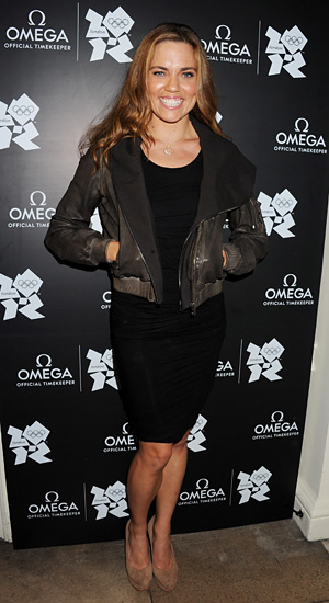 Natalie Coughlin talks to omg!. (Dave M. Benett/Getty Images)