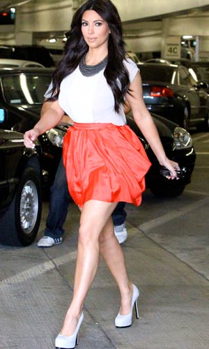 Kim Kardashian has been ramping up her workouts in preparation for her upcoming wedding. - Splash News
