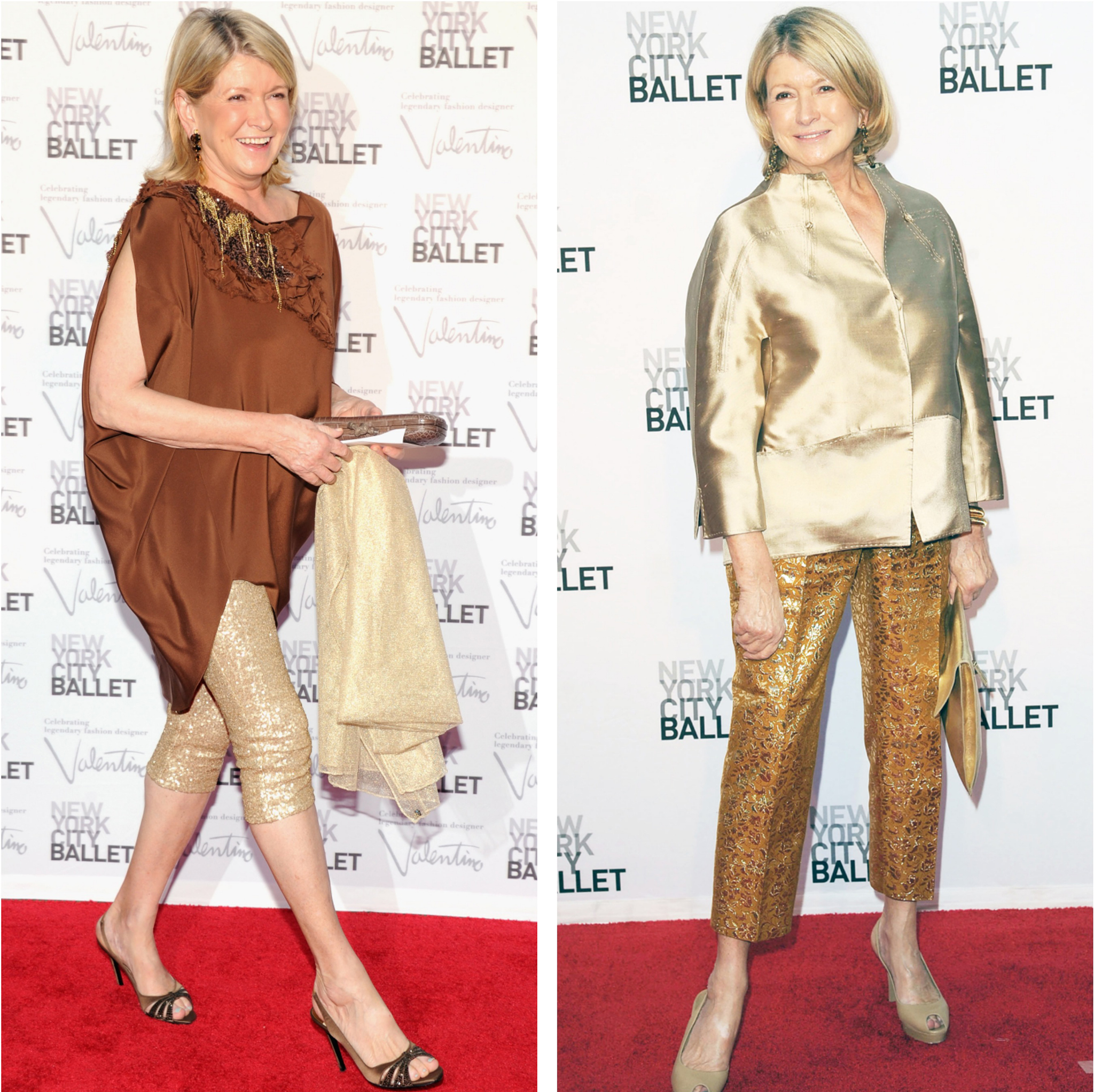 Martha Stewart is a golden girl in 2012 and 2013. (Getty Images/INFDaily.com)